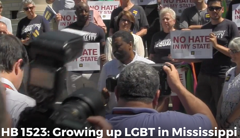 """""""HB 1523: Growing Up LGBT in Mississippi"""" was among Lagniappe Award winners at the 2017 Crossroads Film Festival. It is a short documentary by 2016 Mississippi Youth Media Project students."""