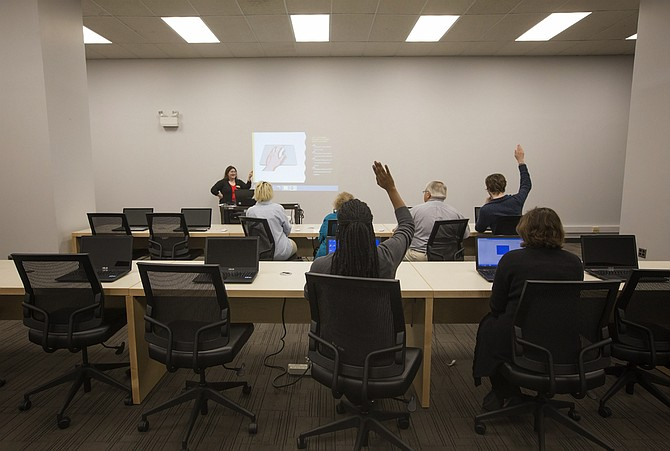 Welty Library Opens New Tech Lab Will Offer Free Classes