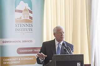 Republican U.S. Sen. Roger Wicker said in Jackson Tuesday that he supports President Donald Trump's decision to order air strikes on a Syrian air base last week.