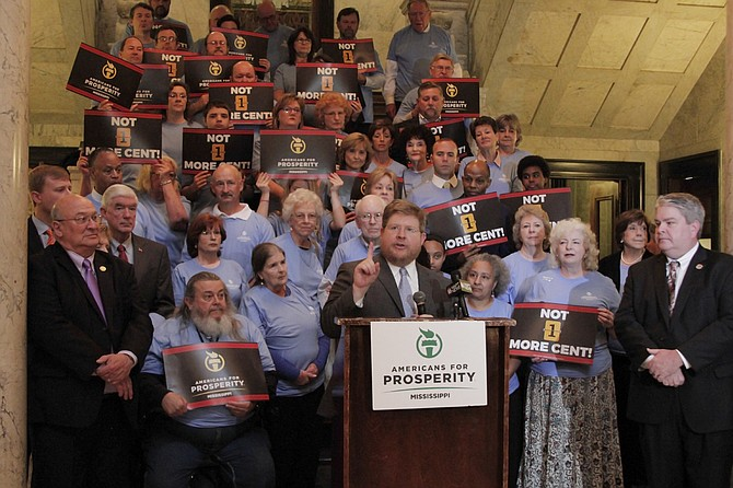 Russ Latino, the Mississippi director for the right-leaning Americans for Prosperity, publicly supports loosening the state's occupational regulations.