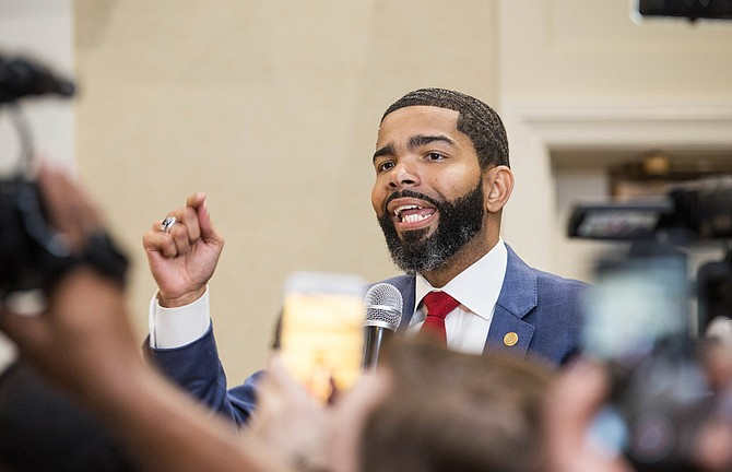 Chokwe Antar Lumumba likely claimed the Jackson mayor's seat, winning the Democratic primary by a landslide against other candidates, drawing more than twice the votes as the second-place candidate.