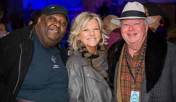 "(Left to right) Jerry ""Boogie"" Mason, Shirley Waring and Terry Duffie work together through the Vicksburg Blues Society. Photo courtesy Valerie Crancer/Vicksburg Blues Society"