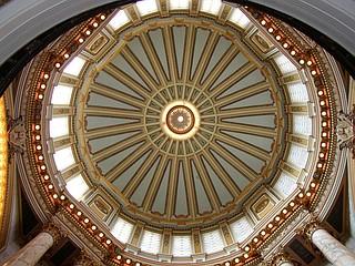 Mississippi State Capitol rotunda