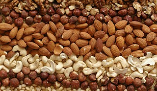 Nuts are a common food allergy. Photo courtesy Flickr/Mariya Chorna