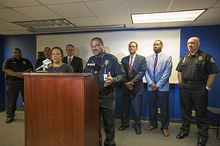 Jackson Police Department Chief Lee Vance said at the press conference Monday morning that this type of crime is unique to the City of Jackson.