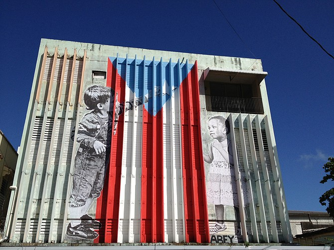 Street art in Puerto Rico Photo courtesy Flickr/Juan Cristobal Zulueta