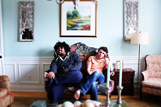 "(Left to right) Nigel Cole and Judson Wright formed hip-hop duo The Empty House and release their first mixtape, ""New Day,"" on May 22. Photo courtesy The Empty House"