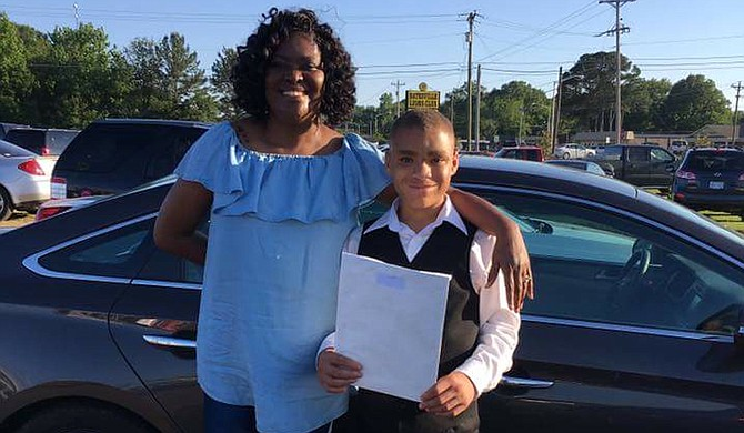 Along with her husband and daughters, Shavonne Thigpen (left) experienced wraparound services for almost a year to help the family support one another and her son, Terry (right), who suffers from autism and sensory and mental-health disorders. Photo courtesy Shavonne Thigpen