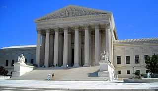 The Supreme Court has nine justices. Nine justices who are left to their own devices to interpret the constitution however they deem fit. Photo courtesy Flickr/NCinDC