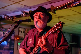 "Taylor, Miss.-based blues act ""Michissippi"" Mick Kolassa & the Taylor Made Blues Band perform Friday, June 30, at Underground 119 in downtown Jackson. Photo courtesy Ruth Spicer"