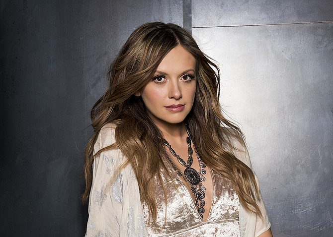 "Country singer-songwriter Carly Pearce performs for Bobby Bones' ""Funny & Alone Stand-up Comedy Tour"" on Saturday, July 8, at Thalia Mara Hall. Photo courtesy John Shearer"