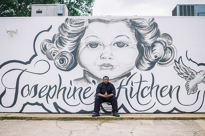 Lee Vance III opened Josephine's Kitchen on Good Friday this year.