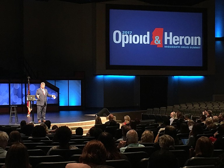 Attorney General Jim Hood called on the Legislature to fund the Department of Mental Health, which runs alcohol and drug services, to help prevent the opioid epidemic from spreading in the state.