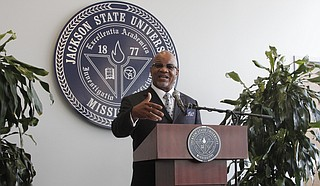 Dr. William Bynum Jr. said enrollment for the upcoming school year is down in his second week as the new president of Jackson State University.