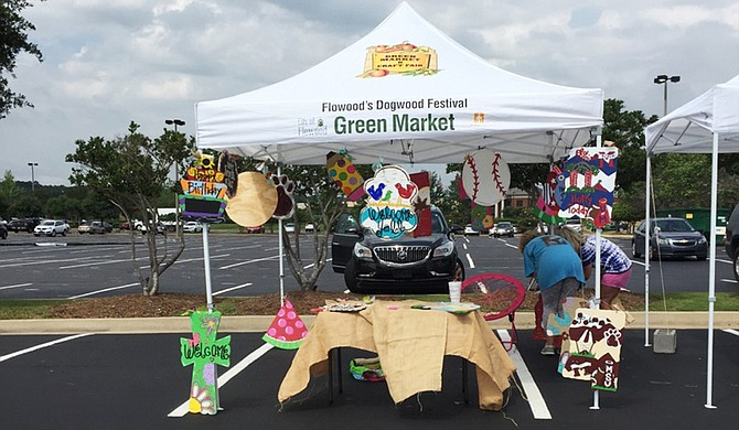 The Green Market and Craft Fair sets up each Saturday through the month of August at Dogwood Festival Market in Flowood. Photo courtesy Green Market Fair Trade