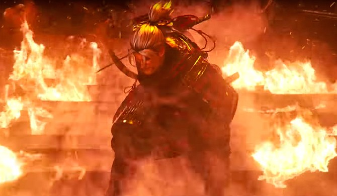 "Team NINJA created ""Nioh,"" which is set in the Sengoku period in Japan."