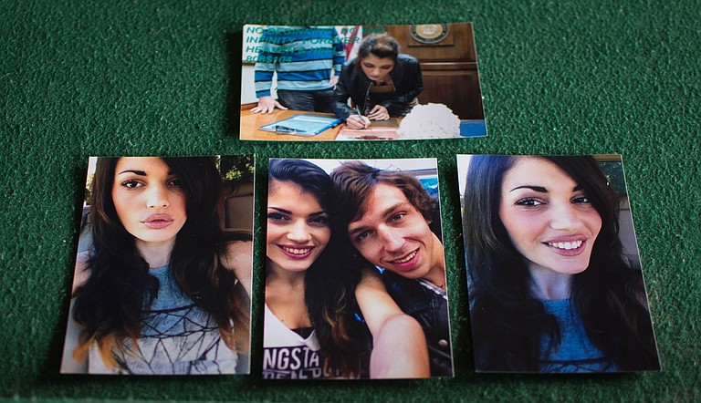 Steve Pollman developed photos of himself and his wife (shown here) just a week before he fatally overdosed on heroin in October 2016. Photo courtesy Cam Bonelli