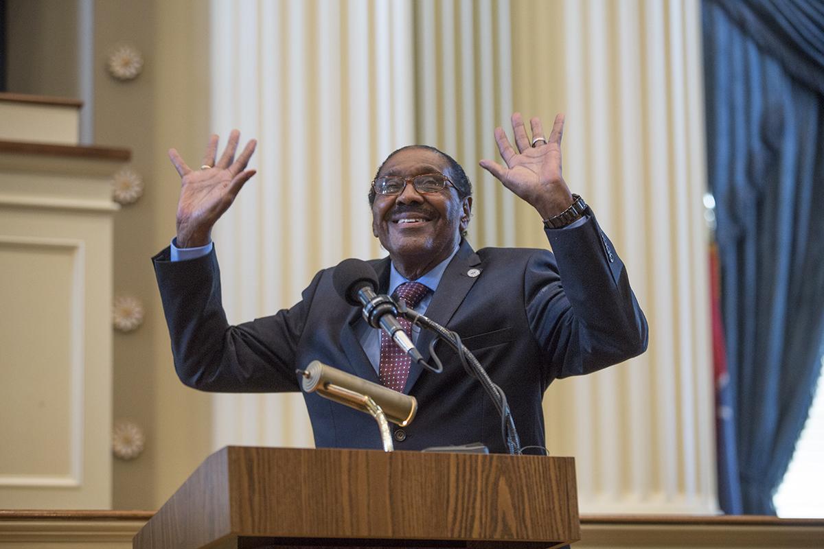Democrats, Republicans Honor Robert Clark's 'Striving and Working' Legacy