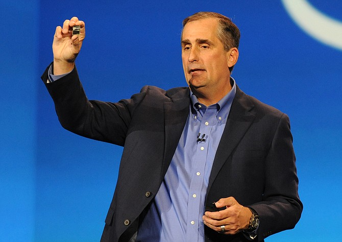 "Intel CEO Brian Krzanich wrote that while he had urged leaders to condemn ""white supremacists and their ilk,"" many in Washington ""seem more concerned with attacking anyone who disagrees with them."" Photo courtesy Flickr/Intel Free Press"