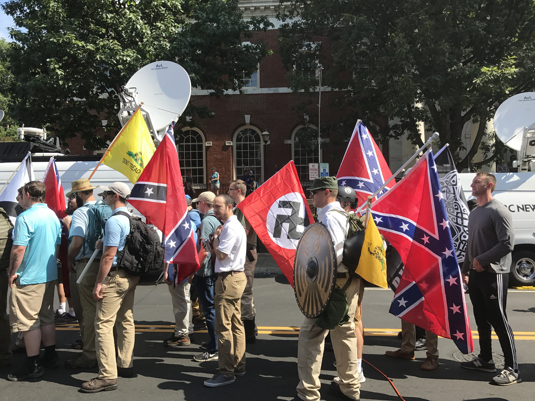 After Charlottesville, Colleges Brace for More Hate Attacks