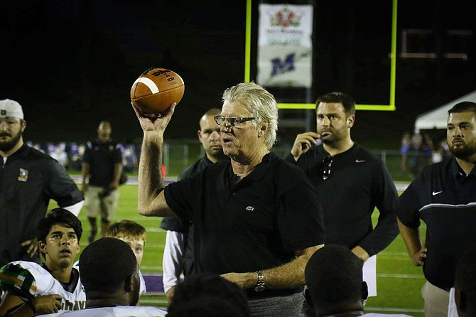 Belhaven University head coach Hal Mumme Photo courtesy Belhaven University