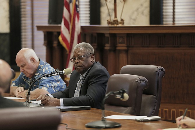 Sen. Willie Simmons, D-Cleveland, chairs the Senate Transportation Committee, and held a meeting to discuss proposals to improve and repair the state's roads and bridges last week.