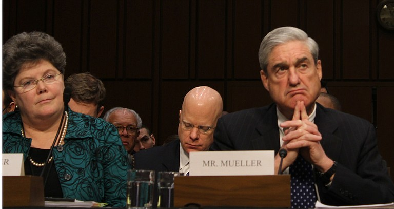 A grand jury used by Special Counsel Robert Mueller (pictured) has heard secret testimony from a Russian-American lobbyist who attended a June 2016 meeting with President Donald Trump's eldest son, The Associated Press has learned. Photo courtesy Flickr/Kit Fox/Medill