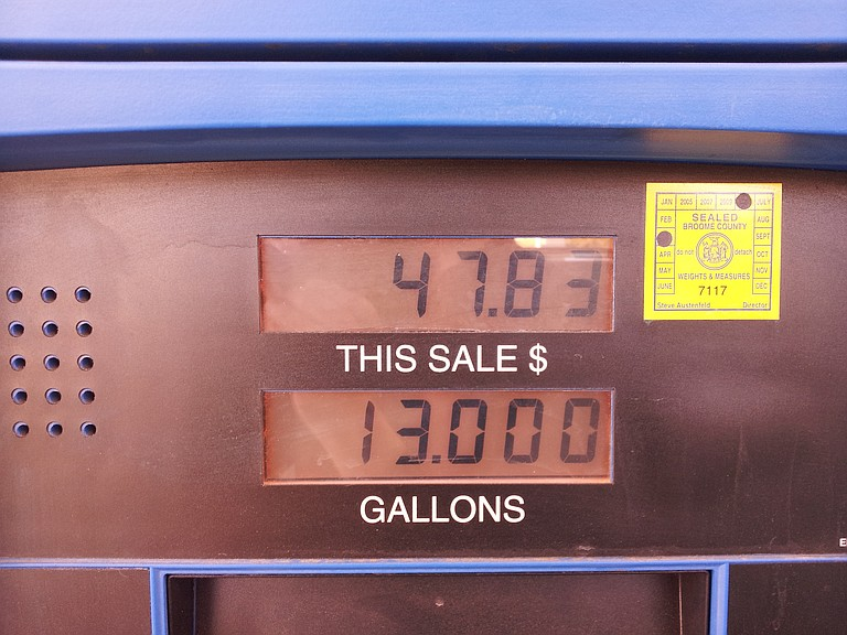 Gasoline prices rose several cents overnight amid continuing fears of shortages in Texas and other states in the aftermath of Hurricane Harvey's strike on the Gulf Coast. Photo courtesy Flickr/Chris Waits