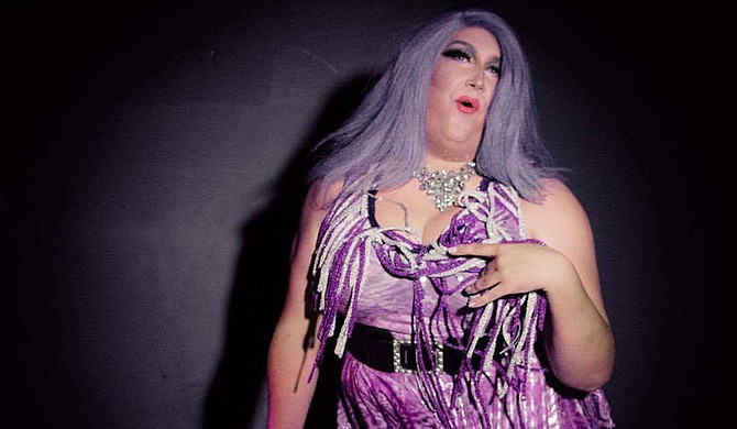 Zachary Salter, who performs as Tara Shay Montgomery, says his drag persona is an extension of his own personality. Photo courtesy Zachary Salter