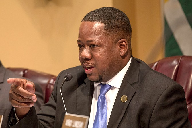 Ward 6 Councilman Aaron Banks is the chairman of the Rules Committee. He presided over a Sept. 5 special meeting to discuss the controversial gating ordinance.