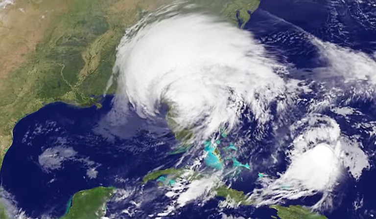 Mississippi is sending almost 100 emergency response specialists to Florida to help with aid and recovery as Hurricane Irma made landfall in the state this weekend. Photo courtesy NASA