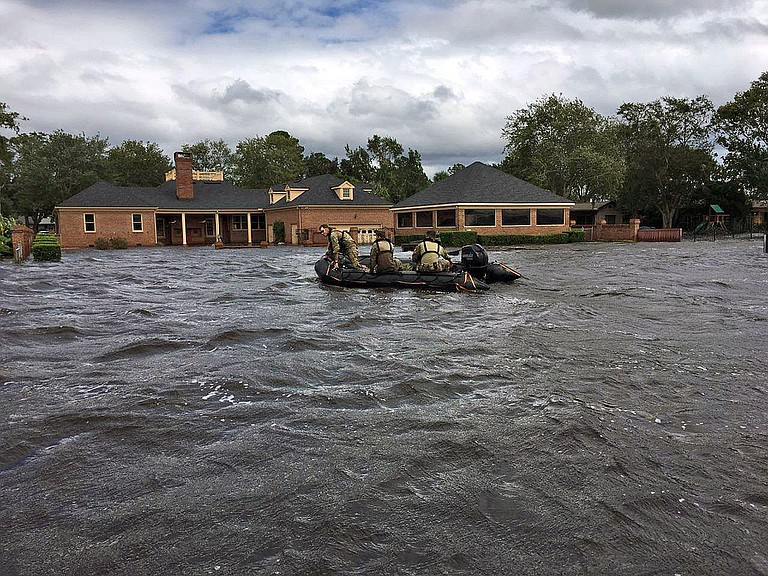 Federal officials estimated that Hurricane Irma destroyed one-quarter of all homes in the Florida Keys. Photo courtesy Flickr/Florida National Guard