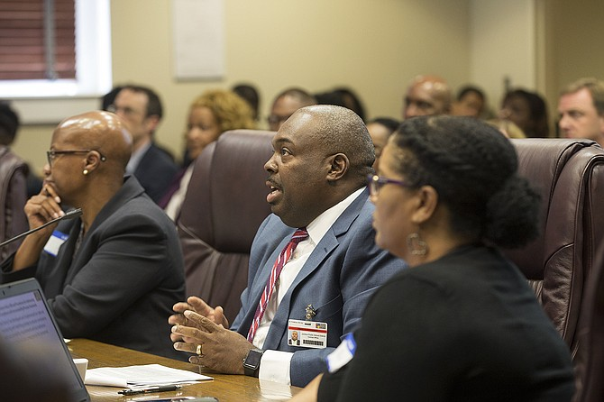 Jackson Public Schools Interim Superintendent Freddrick Murray told the Commission on School Accreditation that the district had made significant progress since he took charge and mentioned inconsistencies between Mississippi Department of Education and JPS data.