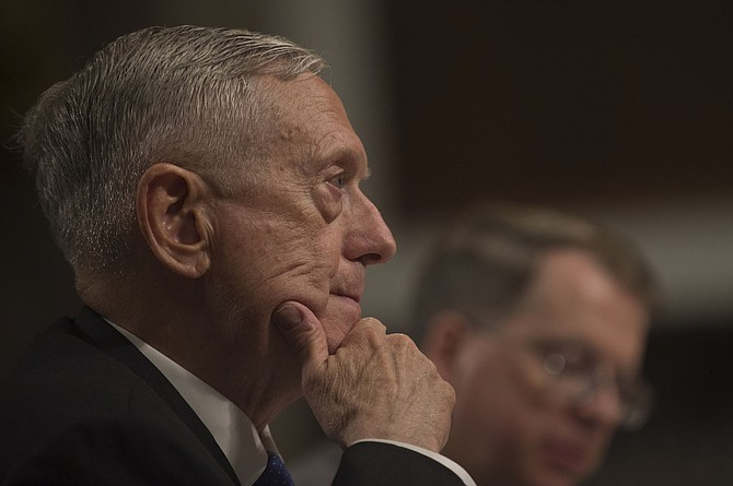 In a memo to top military leaders, Defense Secretary Jim Mattis said a high-level panel will determine how to implement Trump's ban on transgender individuals in the military. Flickr/U.S. Army Sgt. Amber I. Smith