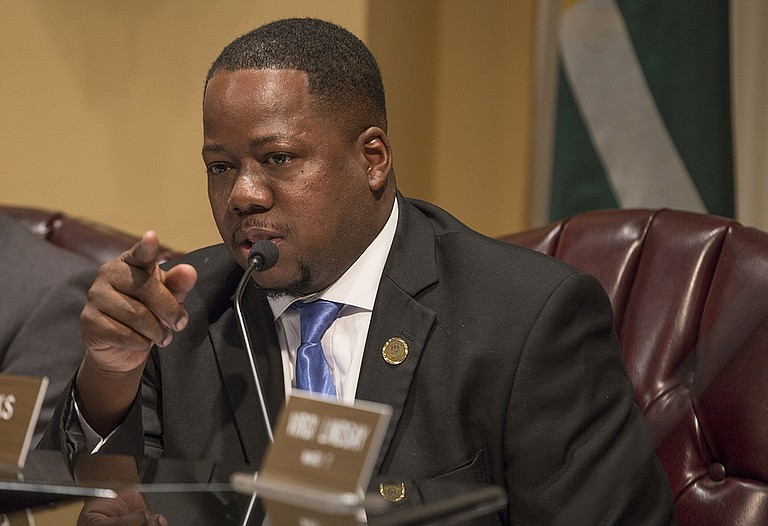 """Ward 6 Councilman Aaron Banks ran on the platform """"South Jackson Matters,"""" which his predecessor and former Council President Tyrone Hendrix inspired."""