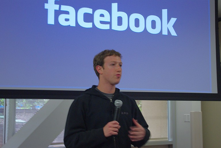 """Facebook CEO Mark Zuckerberg said the company is """"actively working"""" with the U.S. government in its ongoing Russia investigations. Zuckerberg said in a Facebook post and live video on Thursday that he has directed his team to provide the ads, created by fake accounts linked to Russia, to Congress. Photo courtesy Flickr/Jakob Steinschaden"""