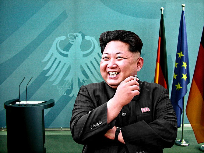 """North Korean leader Kim Jong Un lobbed a string of insults at President Donald Trump on Friday, calling him a """"mentally deranged U.S. dotard"""" and hinting at a frightening new weapon test. Photo courtesy Flickr/Driver Photographer"""