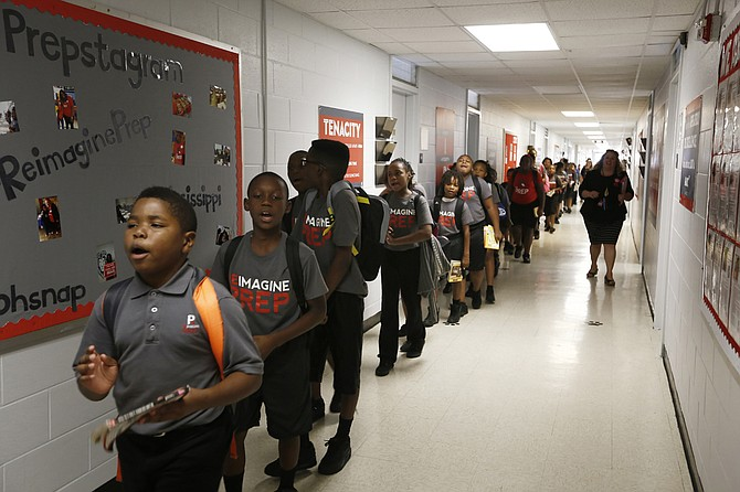 The three charter schools in Jackson, including ReImagine Prep on McDowell Road, receive local tax dollars; several parents with children in public schools have challenged this use of public funds in chancery court.