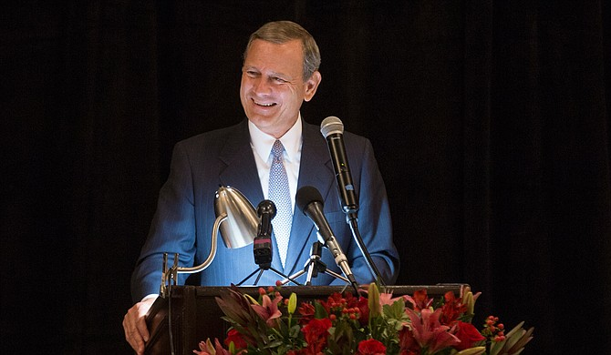 U.S. Supreme Court Chief Justice John Roberts joined hundreds of lawyers and judges in Jackson for the bicentennial of the state's judicial system.