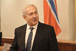 """Israeli Prime Minister Benjamin Netanyahu said Thursday that Israel also plans to withdraw from the agency, saying it had become a """"theater of the absurd because instead of preserving history, it distorts it."""" Photo courtesy Flickr/Kjetil Elsebutangen"""