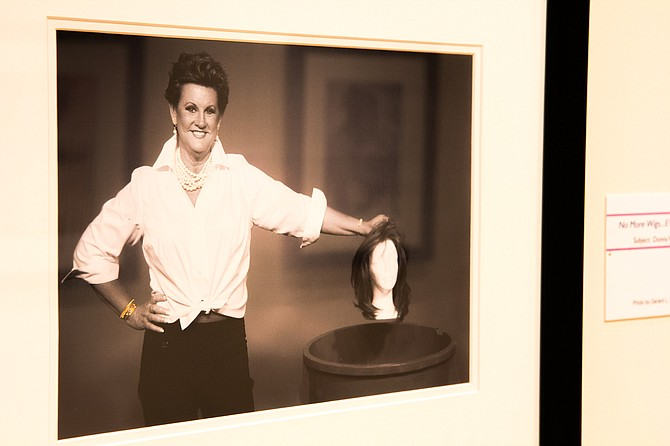 """""""The Beauty of Cancer"""" exhibit features photos of 20 breast-cancer survivors in various stages of treatment. Photo courtesy Mississippi Museum of Art"""