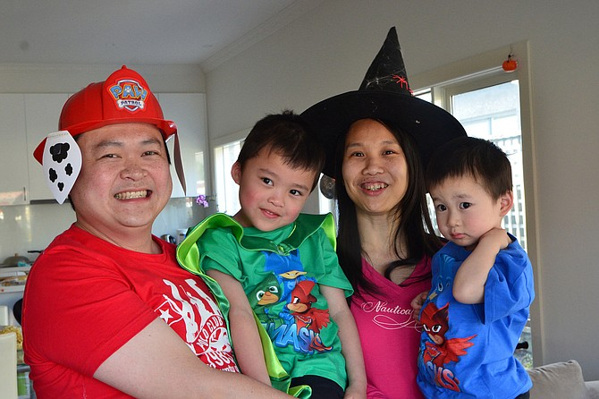 "Local popular Halloween costumes are characters from the children's show ""PAW Patrol"" and witches, among others. Photo courtesy Flickr/Avlxyz"