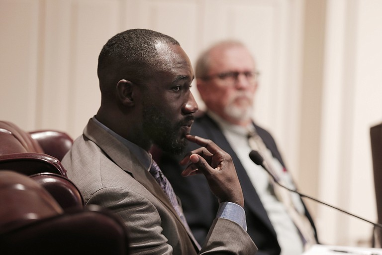 Former Jackson mayor Tony Yarber subdued and paddled a man who police say was burglarizing his vehicle.