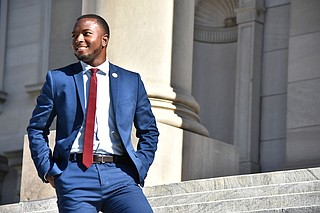 Jeramey Anderson, one of the youngest lawmakers in the Mississippi Legislature, is challenging whoever wins the Republican primary in June to represent District 4 in November. He did not have a primary challenger. Photo courtesy Jeramey Anderson Campaign.