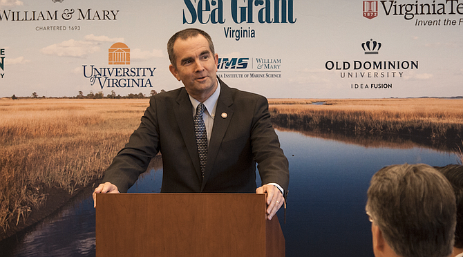 Seizing his party's first major Trump-era victory, Democrat Ralph Northam (pictured) beat back a charge from Republican Ed Gillespie in the race for Virginia governor, a bruising election that tested the power of President Donald Trump's fiery nationalism against the energy of the Trump resistance. Photo courtesy Flickr/Virginia Sea Grant