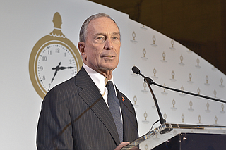 """It is important for the world to know, the American government may have pulled out of the Paris agreement, but the American people are committed to its goals, and there is nothing Washington can do to stop us,"" former New York City mayor Michael Bloomberg said at a global climate meeting in Bonn, Germany. Photo courtesy Flickr/Metropolitan Transportation Authority"