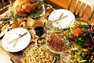 Celebrate Thanksgiving with family—and through buying locally. File Photo