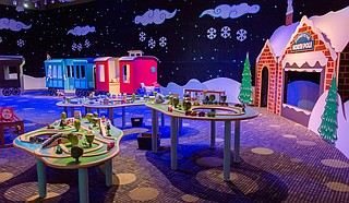"Mississippi Children's Museum will host Santa Saturdays every week from Nov. 25 to Dec. 23. Children will get the chance to meet and take photos with Santa, and see the ""Journey to the North Pole"" exhibit, in which the Gertrude C. Ford Exhibition Hall will become a magical winter village complete with twinkling lights, train cars, the 45-foot Snowflake Slide and more. Santa Saturdays are from 10 a.m. to 2 p.m. every Saturday and are free with museum admission. Photo courtesy MCM/Lindsay McMurtay"
