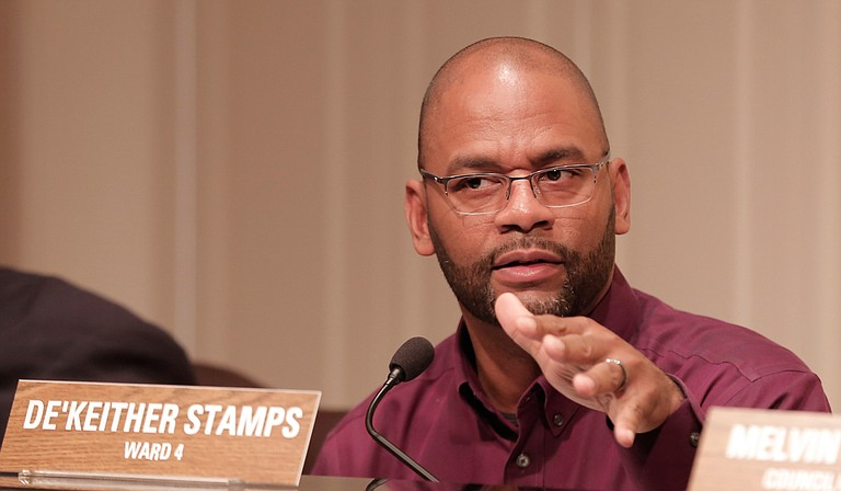 Ward 4 Councilman De'Keither Stamps questioned the lateness of the nominations Mayor Chokwe A. Lumumba put forth for the Jackson Public Schools Board of Trustees the Tuesday before Thanksgiving, saying it allowed little time to consider the candidates. But he ultimately voted to approve both of them.