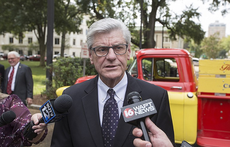 Republican Gov. Phil Bryant signed the law in 2016, but it was blocked for more than a year amid several legal challenges. It took effect Oct. 10, and gay rights advocates immediately started an appeal to the Supreme Court.